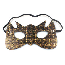 Bronze Leather Eye Mask Sex Toys for Couples Gadget Good Quality Adult Sex Mask
