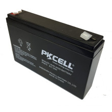 PKCELL 2016 6v 7ah rechargeable lead acid battery SLA and AGM storage battery