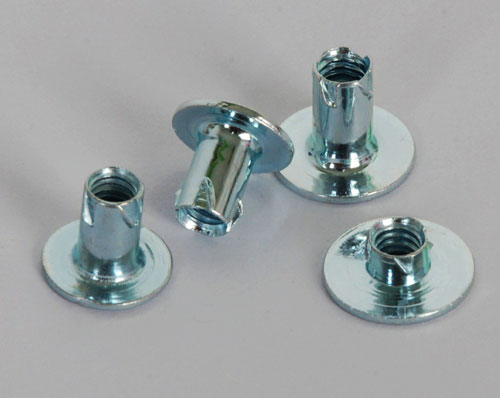 Zinc plated carbon steel propeller nuts