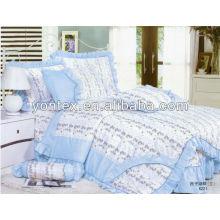Bumper printed bedding set