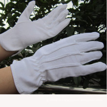 100% Cotton Gloves Bleach Cotton Parade Gloves Work Glove