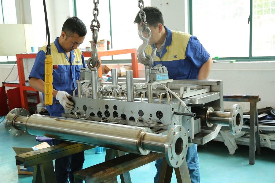 1600melt Blown Nonwoven Fabric Die Working Area