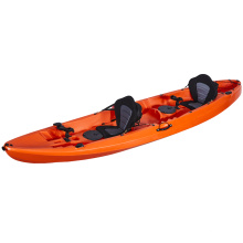 LSF 3 Person Seat 2+1 Family 12FT Fishing Sit On Top Canoe LLDPE Plastic Kayak