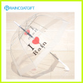 Fashion Ladies Transparent Poe Umbrella