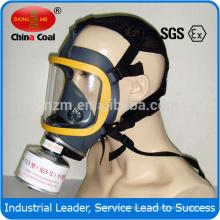 Máscara facial completa fornecida pelo fabricante Máscara respiratória para respirador
