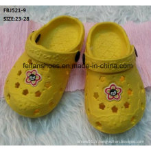Vente chaude EVA sabot chaussures de jardin pantoufle (fbj521-9)