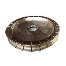 250mm galvanisiertes Schleifscheibensteindiamantschleif- und Polierrad