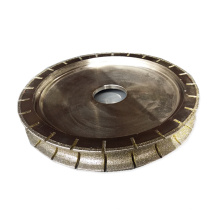 250mm electroplated grinding wheel stone diamond grinding and polishing wheel