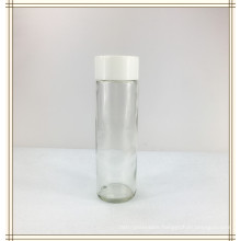 500ml Empty Clear Glass Voss Water Bottle and Screw Cap