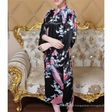 Vestido de seda japonês bonito do quimono do estilo novo (FS5821)