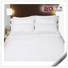 High Quality Stripe Fabric Wholesale Hotel Collection Sheet Sets / Flat Sheets