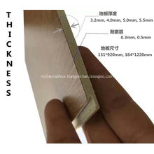 Click SPC Fire Resistant flooring 4mm