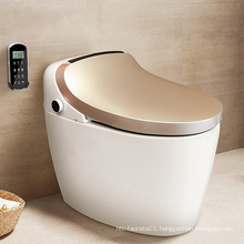 3 Years Warranty Auot Flush Electronic Smart Flip Toilet Bidet,Electric Silent Flush S-Trap Bidet WC Toilets