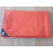 High Quality Orange Tarpaulin Main for India Market