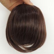 Hot beauty human hair fringe with clips, hair bang