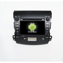 7inch car dvd player GPS for Mitsubishi Outlander with mirror-link car gps