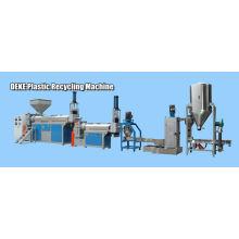PP, PE, PS, PC, ABS flocons de déchets en plastique recyclant la ligne de granulation