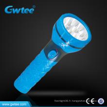 9 lumières haute puissance rechargeable led lampe torche d'urgence