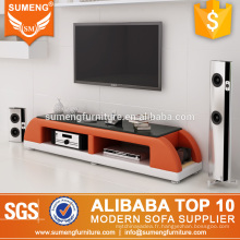 meubles de salon moderne hobby lobby noir verre tv stand