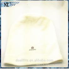 Weiß mit emboridery beanie cap in china gemacht