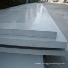 Graue Hart-PVC-Platte / Karton herstellen