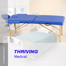 Beech Wood Portable Folding Massage Table (THR-WT002C)