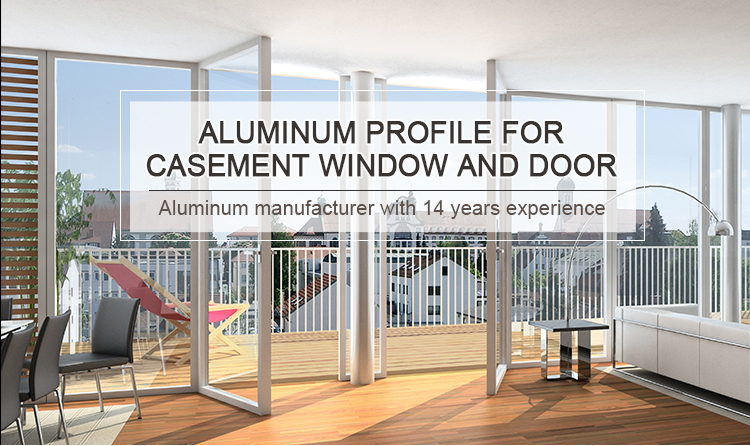 Aluminum Profile of casement door and window