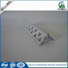 calidad superior personalizar el grano de esquina de yeso blanco