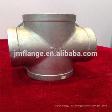 astm stainless steel 304/316l cross sch std LR