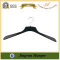 Reliable Quality Black ABS Plastic Metal Hook Deluxe Hangers