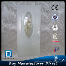 Luxury, classic,high definition,entry decorative steel glass panel door, china