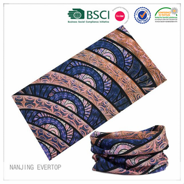 100 % Polyester volle Print multifunktionale Stirnband
