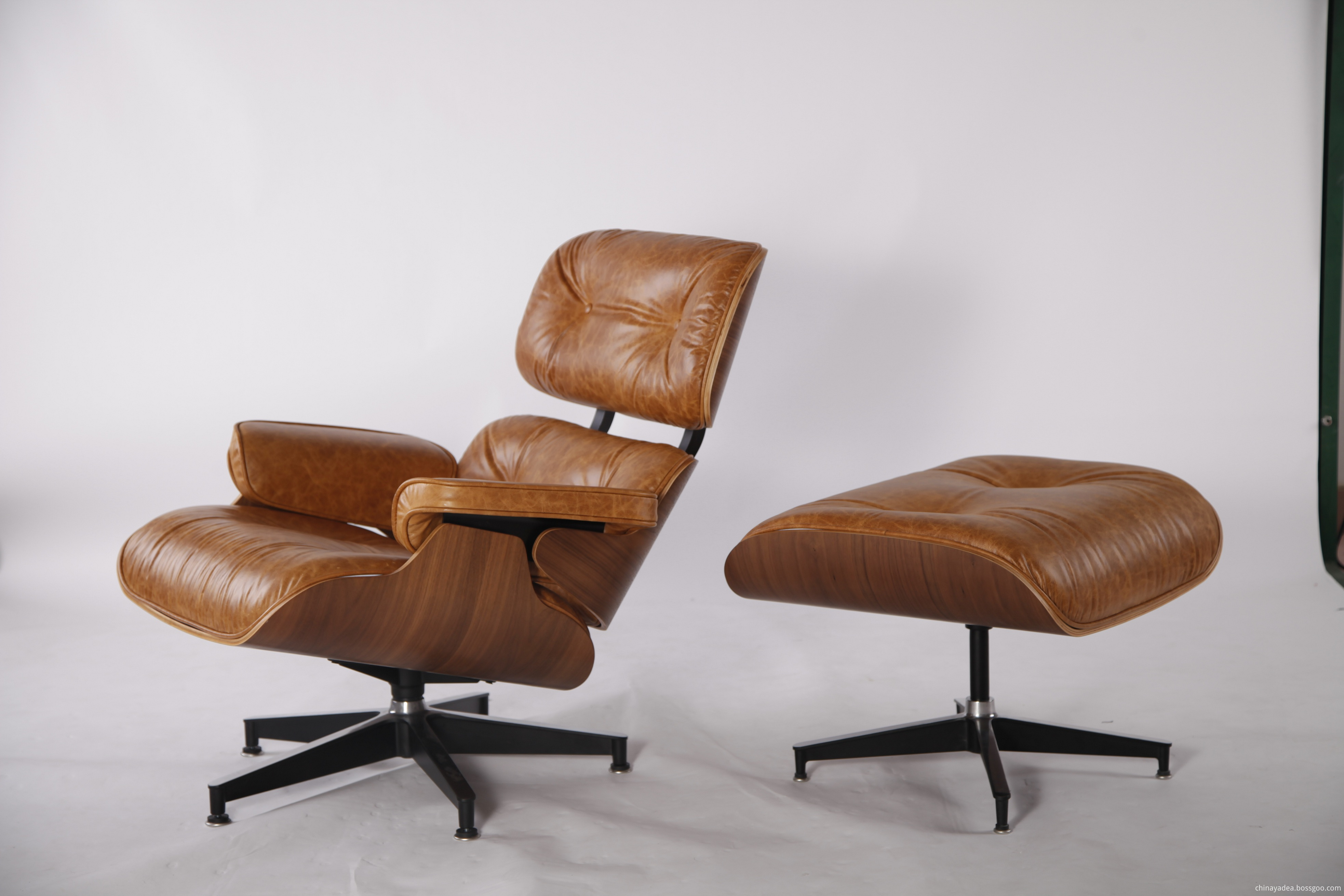 Charles and Ray Eames Chair and Ottoman