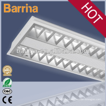 montaje en superficie lámpara de la rejilla eléctrica 2 * 28W T5