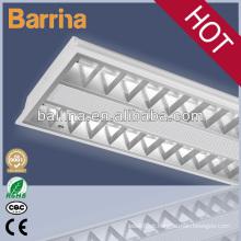 luminária de grelha elétrica 2 * 28W T5 de montagem em superfície