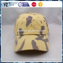Gorra de béisbol lisa con el precio al por mayor