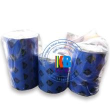 Característica original alta qualidade 110 * 300 fita zebra azul da impressora