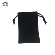 Promotion good quality simple velvet bag