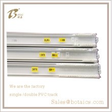 bedroom window curtains,pvc ceiling,double hotel curtain track,double-track curtain