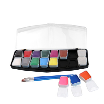 Art Body Non-Toksik Paint Face Set With Stencil