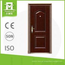 catálogo de design de porta de aço laminado a quente de segurança