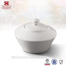 New products for 2015 good quality porcelain sugar pot /sugar bowl