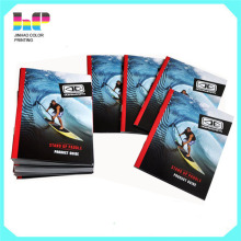 Catalog printing custom style design soft cover book printing