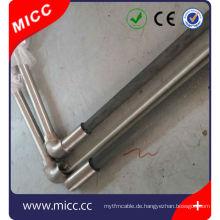 Anschlusskasten k Typ Rechtsengel Thermoelemente für geschmolzenes Aluminium