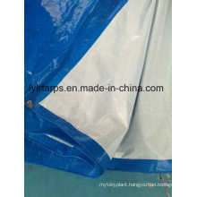 Finished Blue/White PE Tarpaulin Sheet, Polyethylene Tarpaulin