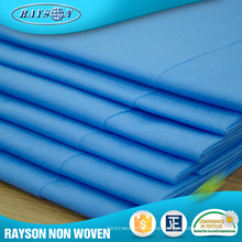 Materia textil no tejida médica material del paño de la cubierta de cama de hospital de la tienda de Alibaba