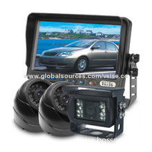 Automobile CCTV Camera System with On-screen Menus, Weights 239g