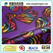 Tissu en polyester recouvert imprimé en polyester pour sac ou bagage