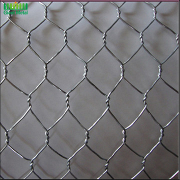 Forme de trou hexagonal Gabion Application Mur Gabion