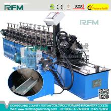 FX c & z purlin máquina de formação de rolos de alta velocidade